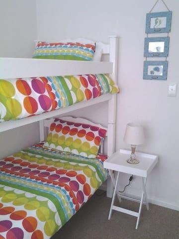 Comfortable bunker beds