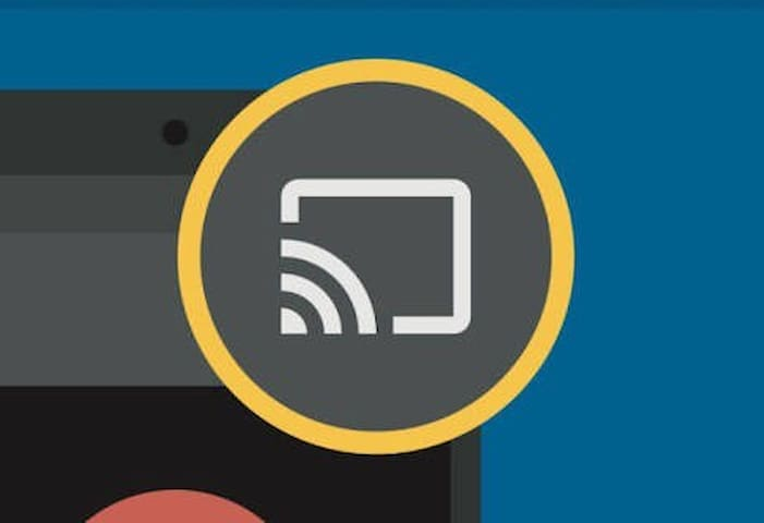 Streaming made easy. Each of our TVs is fitted with a Google Chromecast Ultra making it simple to stream content from your phone or tablet (Apple and android) onto our TVs while using our unlimited complimentary wifi. Just look for this casting icon.