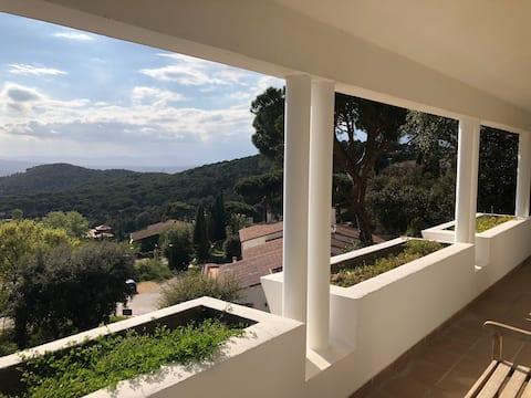 Apartamento con vistas a la montaña