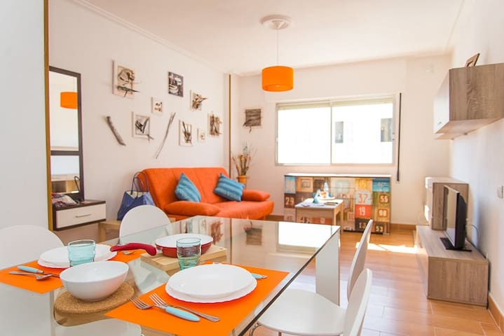 Renovated apartment in center