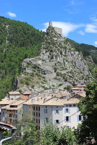 Entrevaux, a most beautiful French village