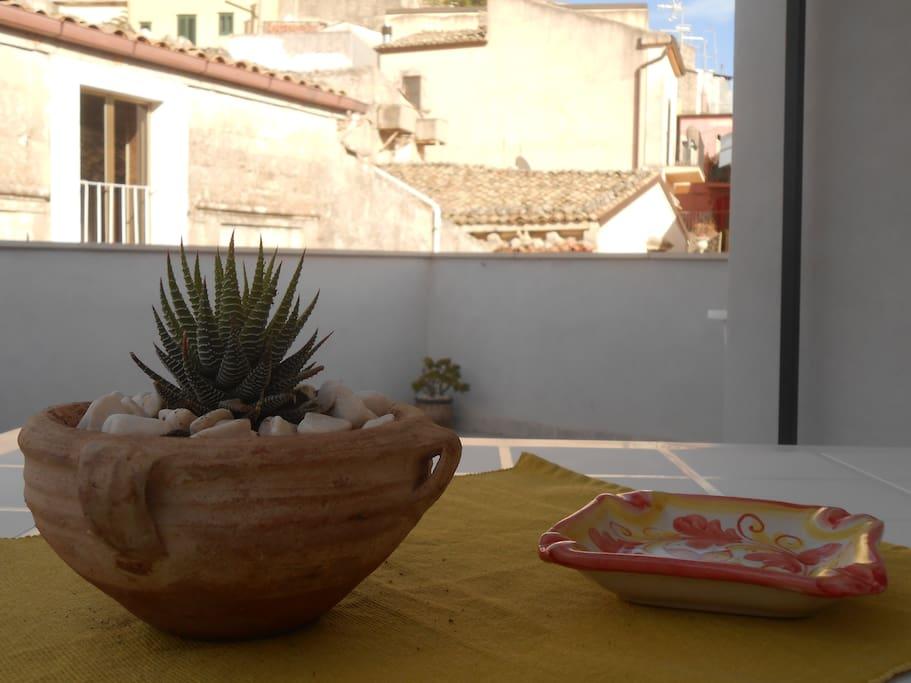 La terrazza di giulia case in affitto a ragusa sicilia for Case in affitto a ragusa arredate