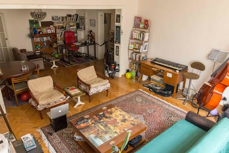 Cozy, spacious, art lover house at center Taksim