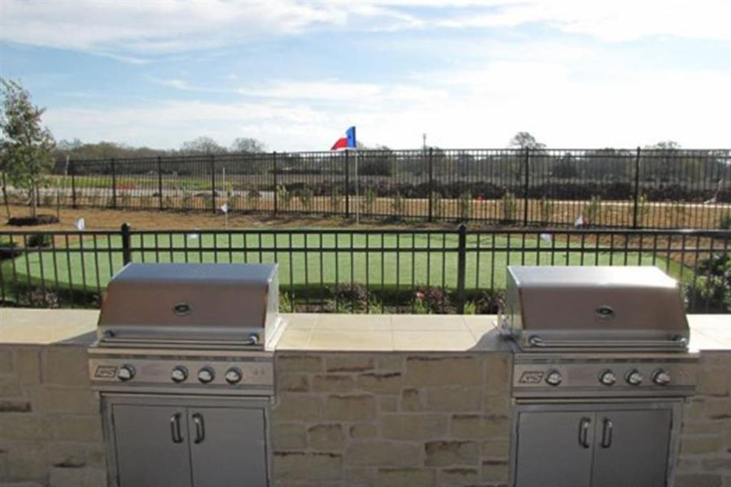 grills at both clubhouses!