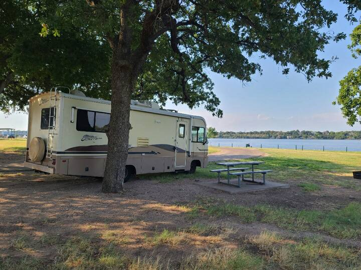 Family Fun Memorable RV Lake Camping Experience