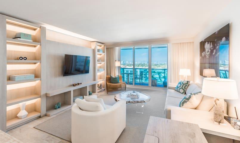 Beautiful condo on beach part of new hotel - Miami Beach - Apto. en complejo residencial