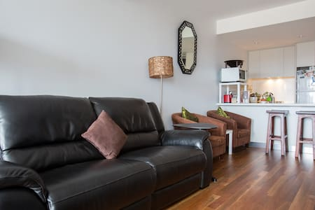 CITY view Apartment Private Room/Pvt Bathroom - Footscray - Daire