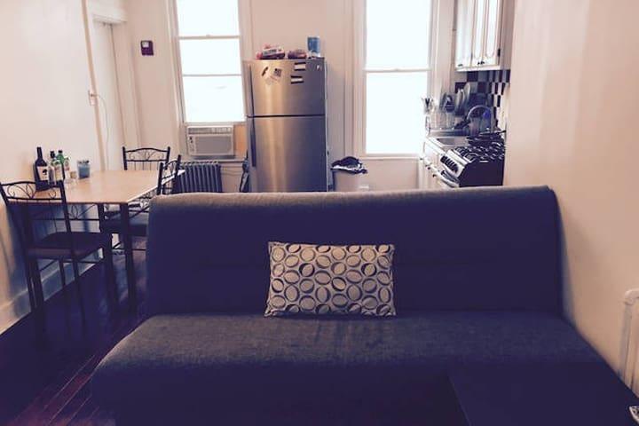 Communal Living Room / Kitchen