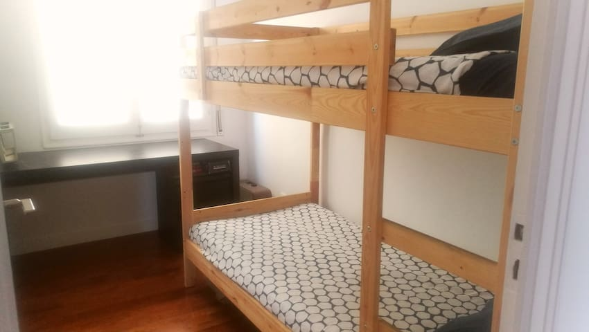 Litera, Twin bunk bed