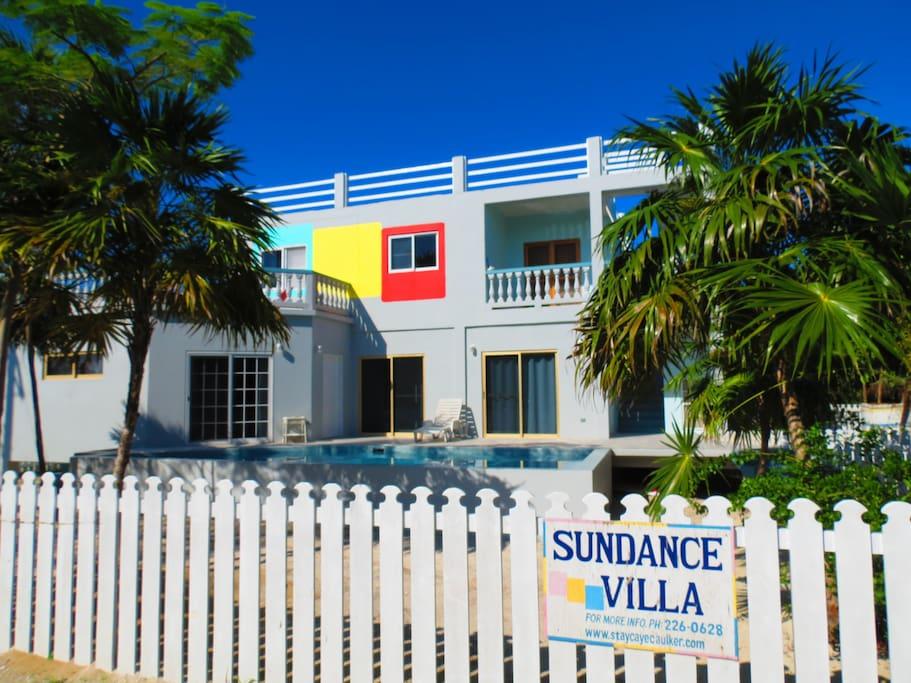 Sundance Villa is a 5-BR / 6-BA Vacation Rental Island Home Available: 3 Suites / Apt. Rentals