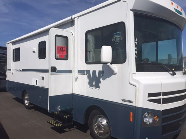 New Winnebago Class A Tribute Motor Home.