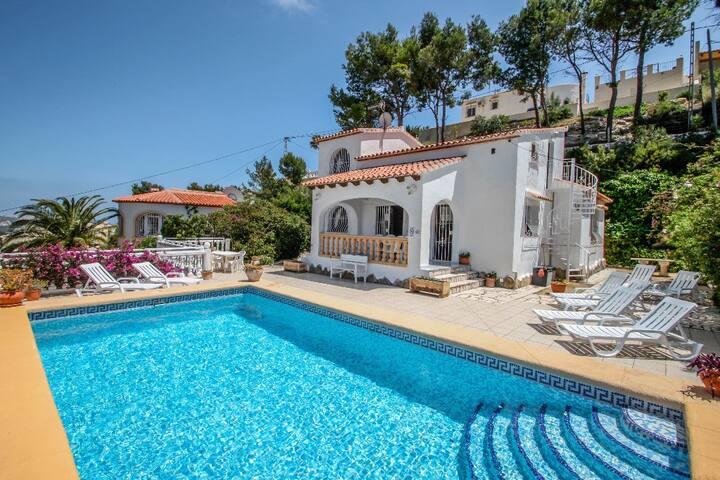 Paraiso Terrenal 8 - holiday home with private swimming pool in Costa Blanca