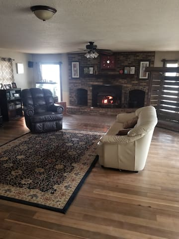 Large updated  country farm house