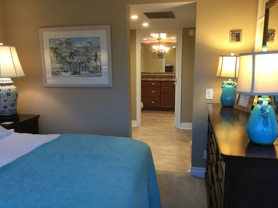 Spacious storage space for extended stays