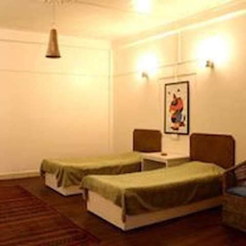 Spacious room at The Anchorage guest house
