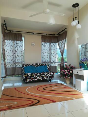 Cemara at Lavender Heights Senawang.  Angsi view