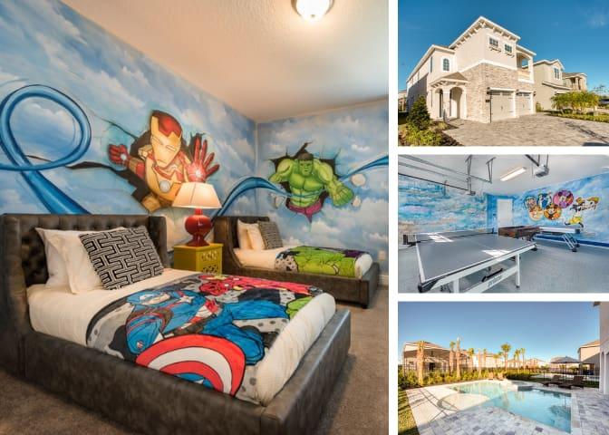 Brand new 10 Bed Luxury Villa at Encore Resort