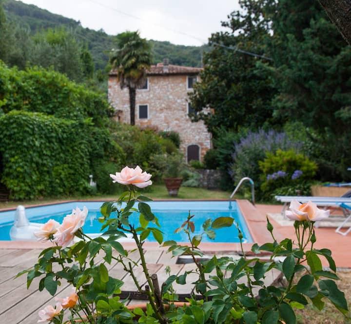 '800 stone-villa in Lucca