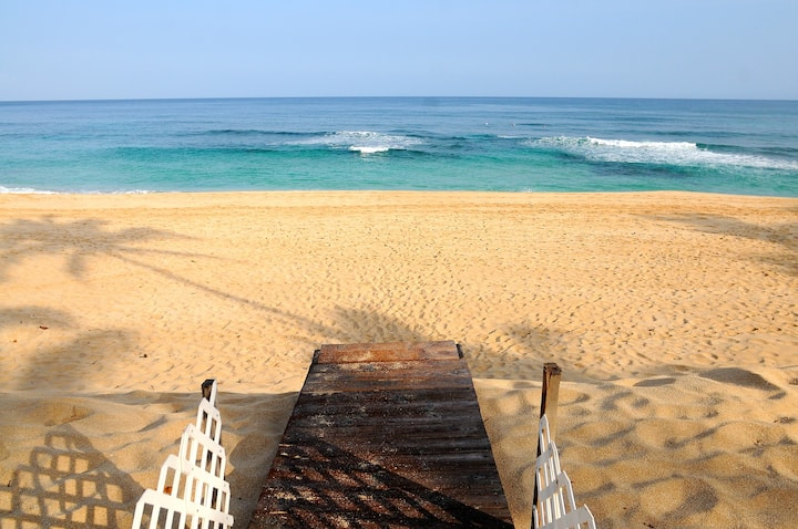 Beach front UPPER studio
