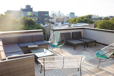 Gorgeous 1 BDR With Spacious Terrace - Brooklyn - Apartment