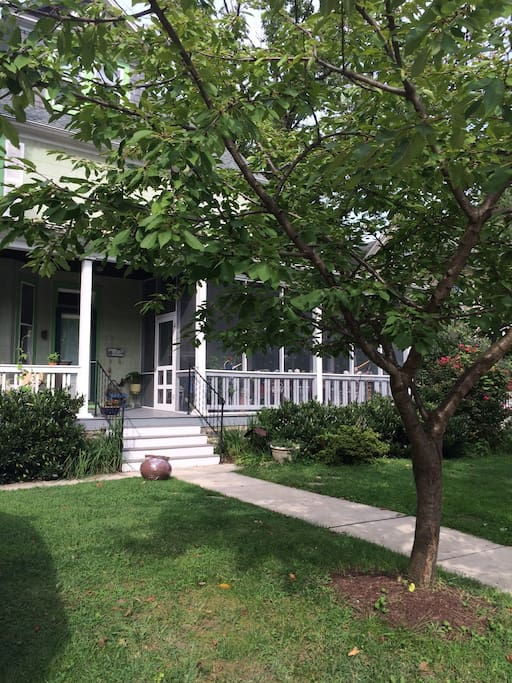 Three bedroom, 1920's home with screened-in porch in safe, family-friendly neighborhood.