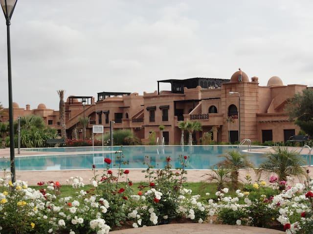 Atlas Golf Resort Appartement avec jardin privé. - Marrakesh - Apartamento