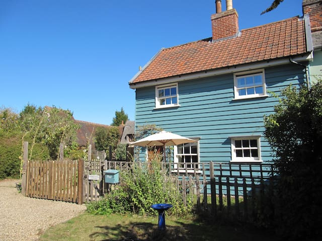 Suffolk cottage in a central village location.