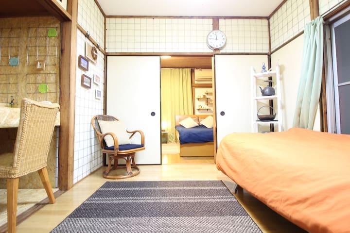 Old Japanese bath/YOGA Sta/JAPAN/WIFI/Parking - Setagaya-ku - Flat