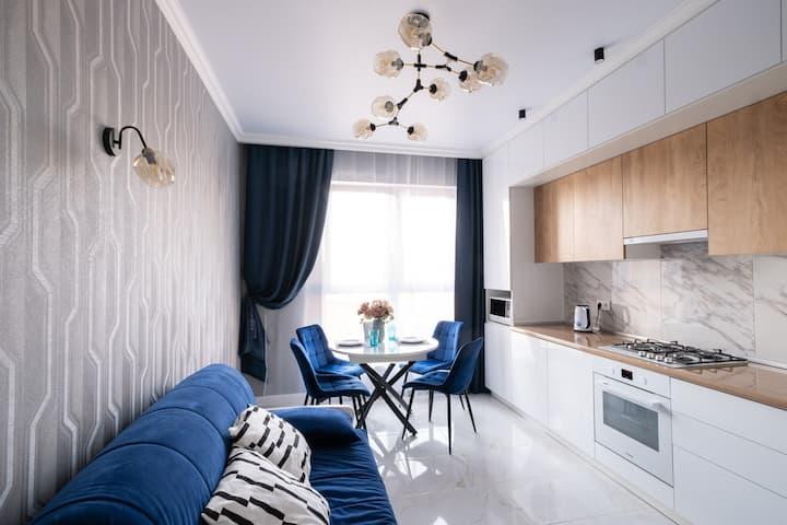 Апартаменты CRYSTAL у моря в Novorossiysk.