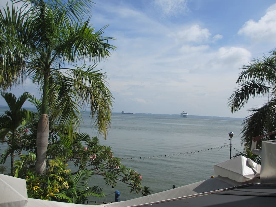 Sea View from Lobby Area