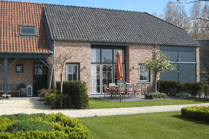 Im Jahr 2006 errichteten Ferienwohnungen.