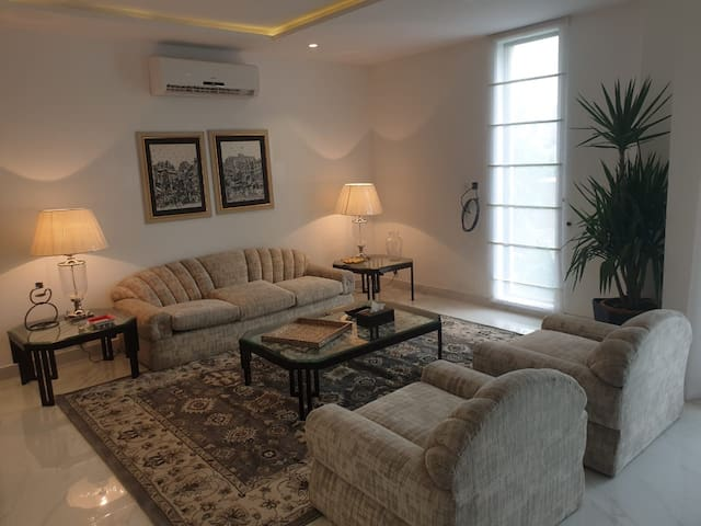 Private 2 Bed Apartment with Pool in Gulberg