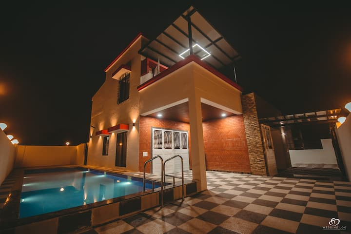 Shivtirtha villa with swimming pool