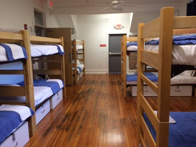 Single Bed in Men's Dorm-Firehouse Hostel & Museum