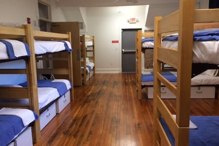Single Bed Male Dorm-Firehouse Hostel & Museum