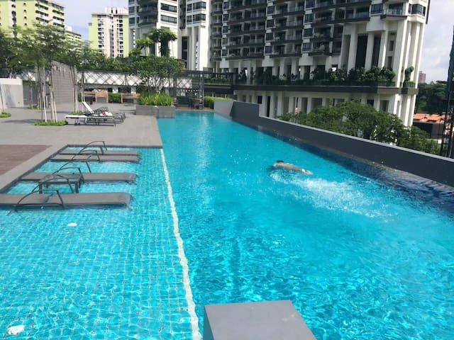 One bedroom condo central location - Singapura - Apartmen