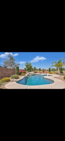 Augusta ranch golf course home with amazing pool