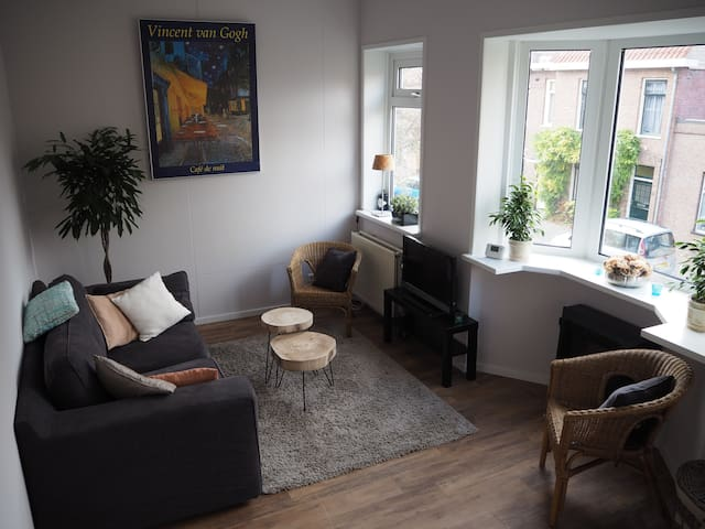 Zonnig appartement 2,5 km van centrum Haarlem - Haarlem - Pis