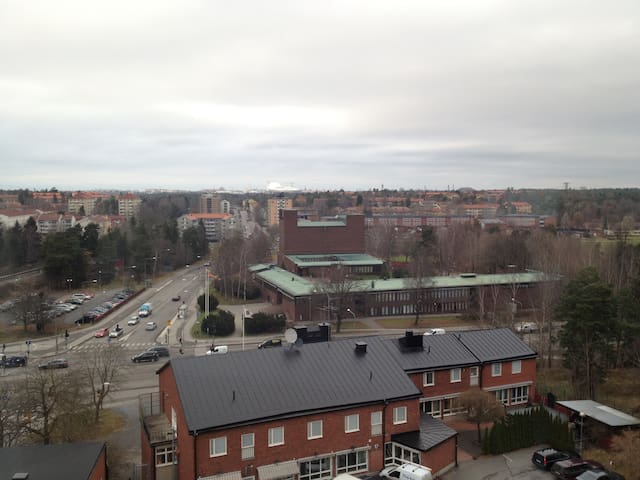 Enkelt boende i fräsch lägenhet - Stockholm - Apartment