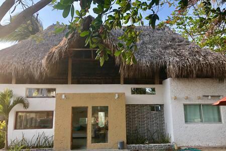 Cabaña en Santa Verónica a 100 MTS de playa