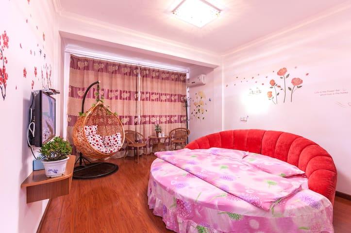 浪漫圆床房 - Jiaxing - Villa