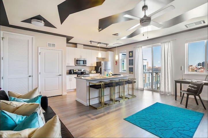 Luxury Living Stylish Penthouse Suite