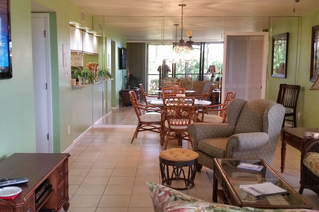 Large Living / Dining area