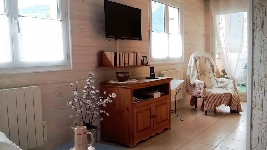 Joli appartement meublé de 38 m² - Scionzier - Departamento
