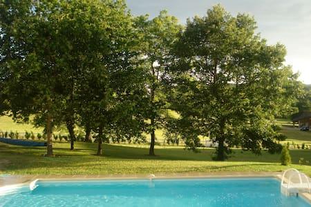 Maison à la campagne, avec piscine. - La Roche-Posay - Casa