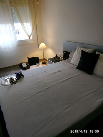 Encantadora habitación con vistas en Calella