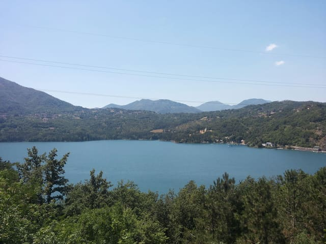 Villetta con splendida vista lago - Camugnano - Huis