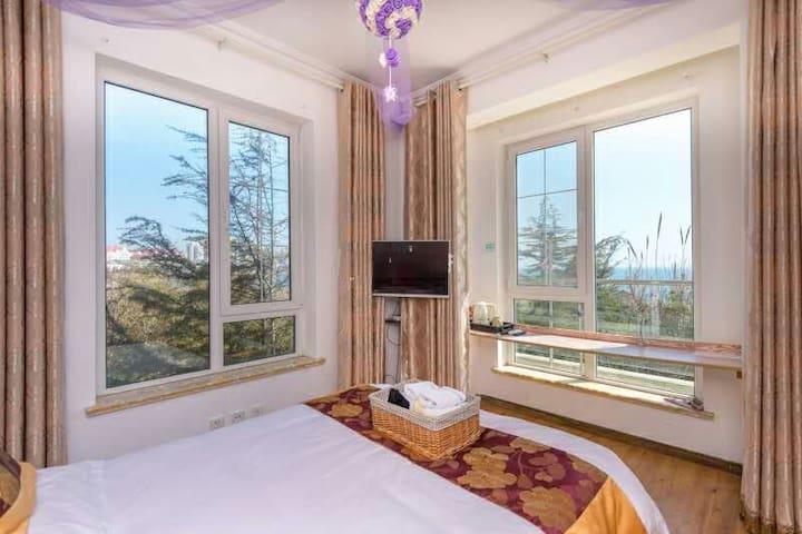 五四广场海边别墅度假屋住一线海景房不一样的感觉 - Qingdao - Villa