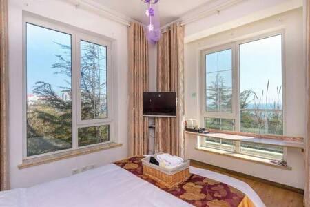 五四广场海边别墅度假屋住一线海景房不一样的感觉 - Qingdao