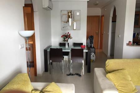 beautiful beach apartment in orihuela costa
